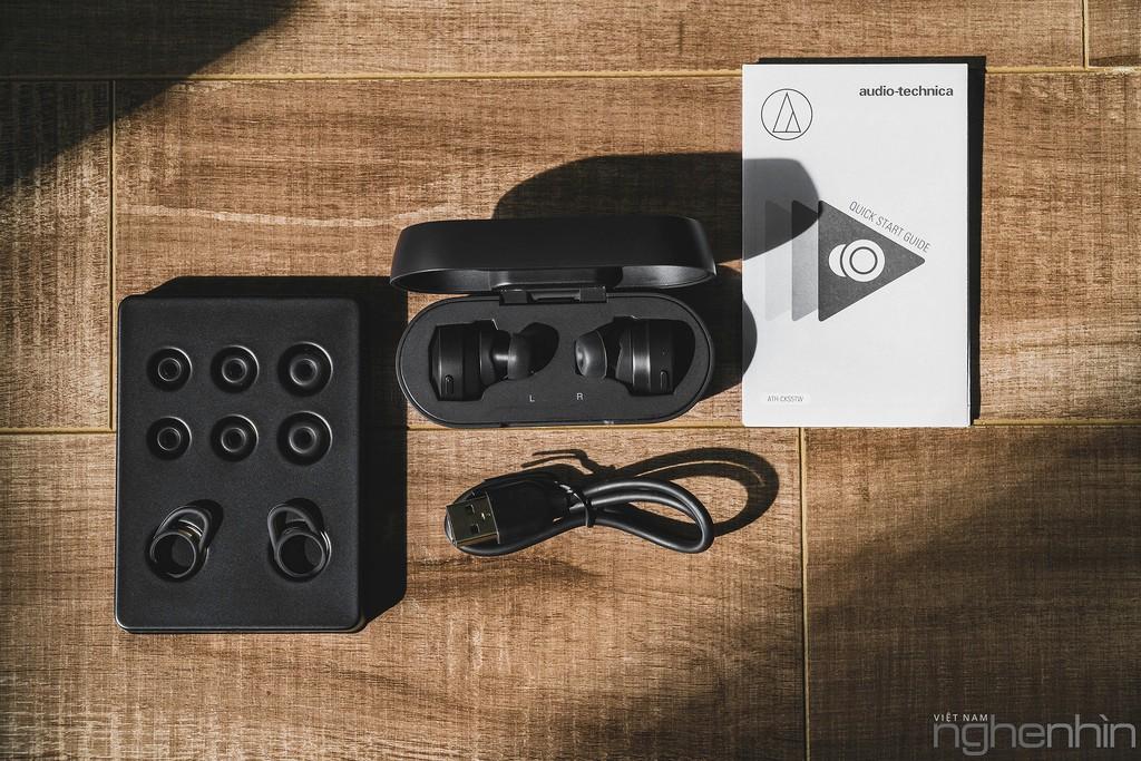 Trải nghiệm cặp tai nghe true wireless mới của Audio-Technica - Năng lượng siêu lực! ảnh 15