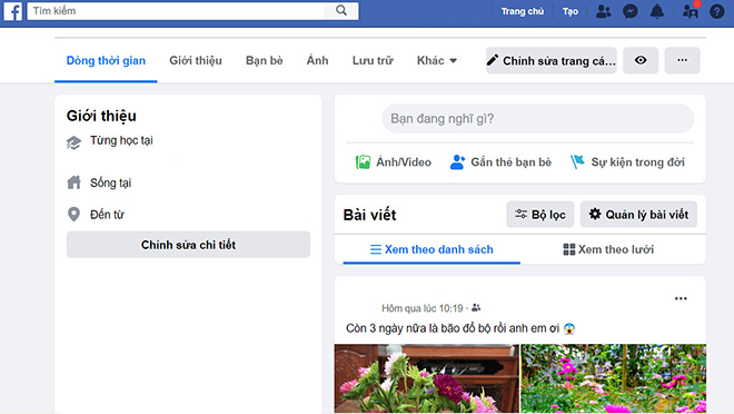 facebook chinh thuc cap nhat giao dien moi cho nguoi dung viet hinh anh 1