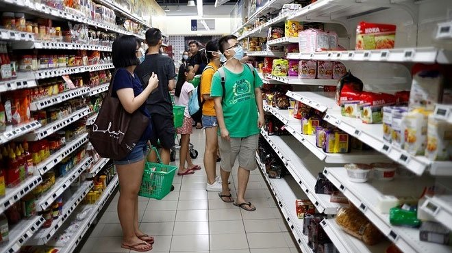 Nên tìm mua thực phẩm tại siêu thị, trung tâm sạch sẽ, có nguồn gốc rõ ràng