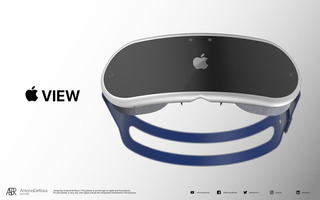 Kính thực tế ảo AR/VR sắp tới của Apple trông như thế nào? ảnh 1
