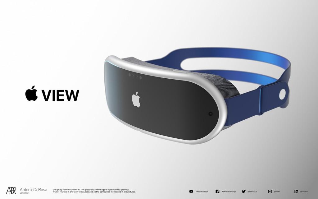 Kính thực tế ảo AR/VR sắp tới của Apple trông như thế nào? ảnh 4