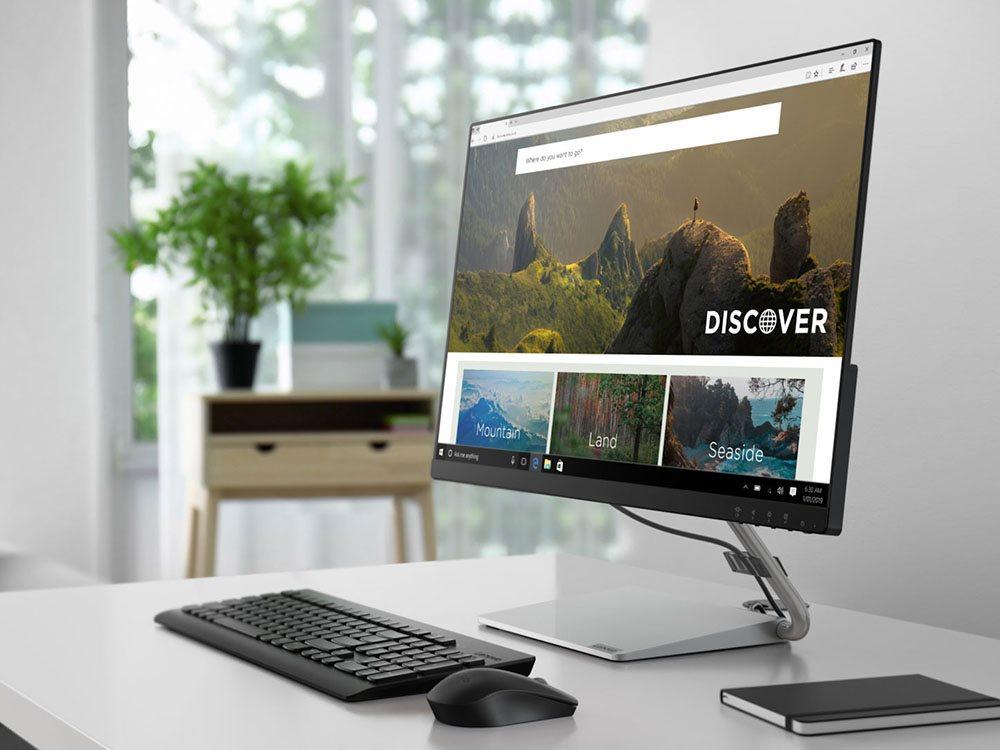 Lenovo tung loạt màn hình mới ra thị trường Việt Nam