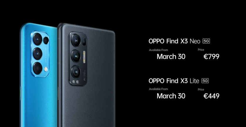 OPPO công bố Find X3 Neo và Find X3 Lite với giá phải chăng hơn ảnh 5