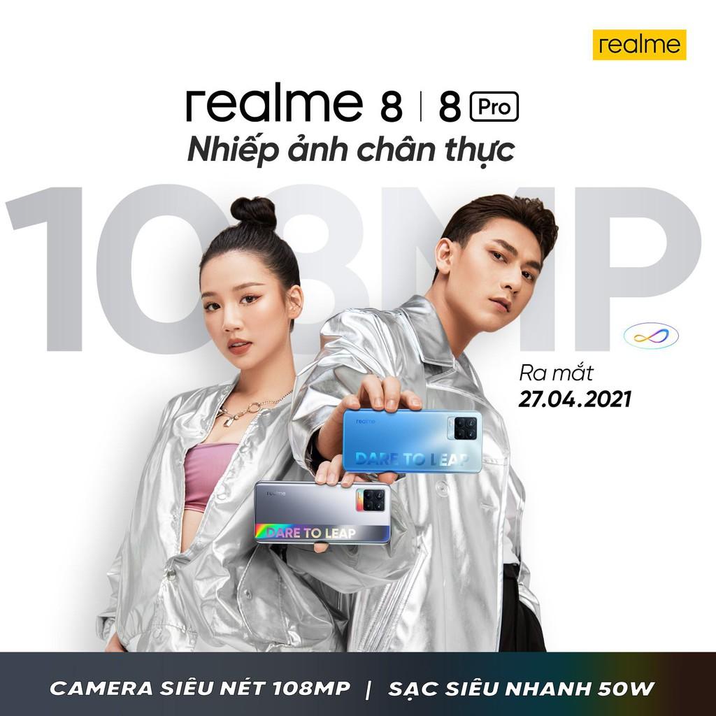 Realme 8 và 8 Pro ra mắt ngày 27/4, AMEE và Isaac làm đại sứ thương hiệu ảnh 2