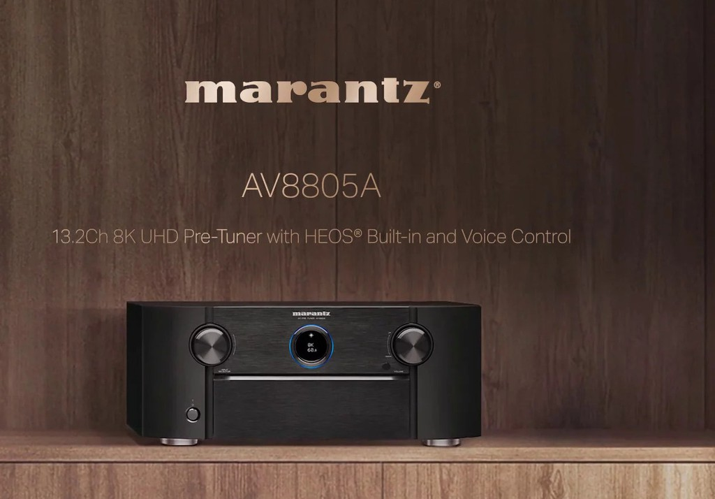 Marantz AV8805A - Pre Processor 8K 13.2 kênh balance, dành cho rạp hát tại gia cỡ lớn  ảnh 1