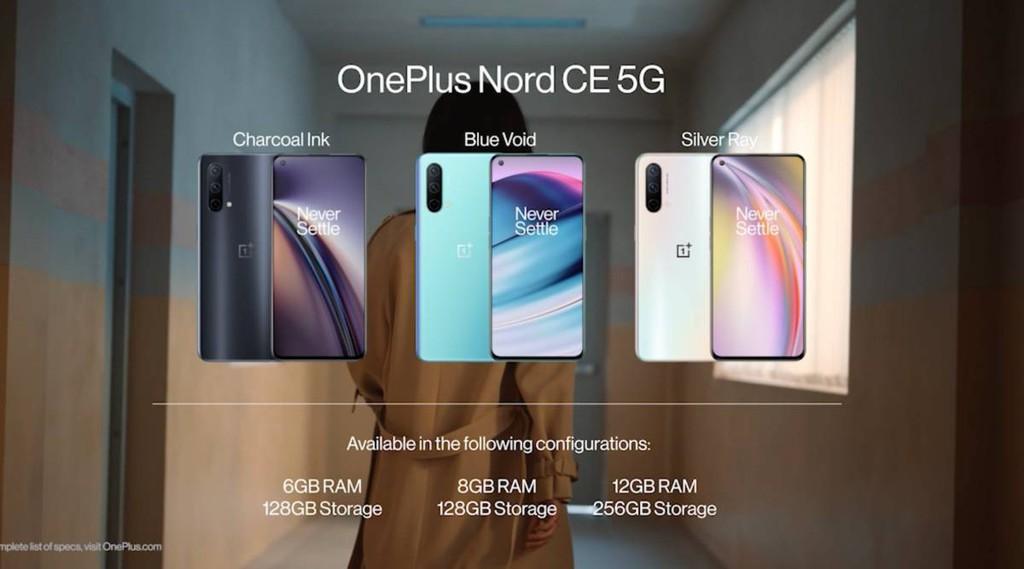 OnePlus Nord CE 5G ra mắt: Snapdragon 750G, màn hình AMOLED 90Hz, giá từ 315 USD ảnh 4