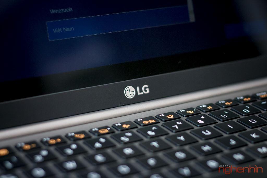 Trên tay LG gram 14Z980 tại Việt Nam: gọn nhẹ, tích hợp cảm biến vân tay, giá 31,5 triệu ảnh 13