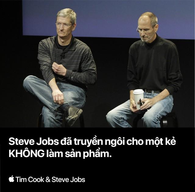 Steve Jobs thực sự đã truyền ngôi cho kẻ thuộc nhóm người mình khinh ghét nhất - Ảnh 4.