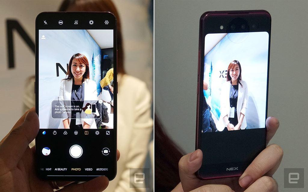 Vivo NEX 2 ra mắt: 2 màn hình, mở khóa khuôn mặt tốt hơn Apple, 10GB RAM, giá 722 USD ảnh 4