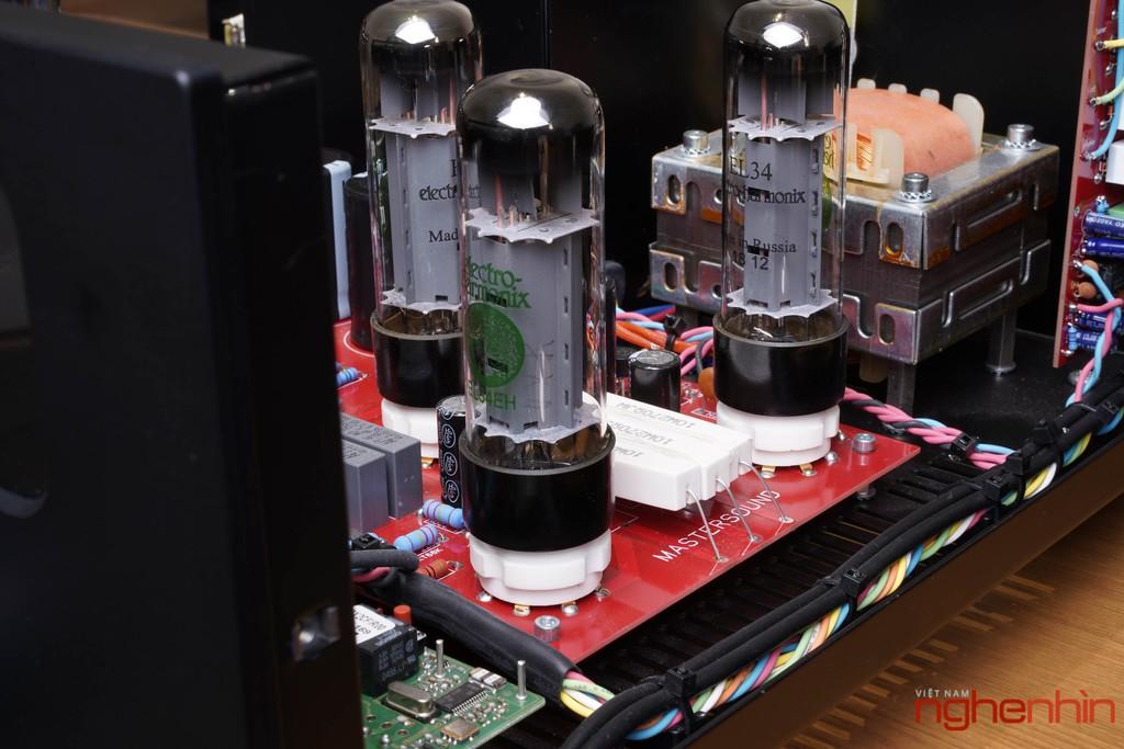 Ampli đèn MastersounD BoX – Dung hòa tính tự nhiên, độ chi tiết, kiểm soát bass tốt ảnh 11