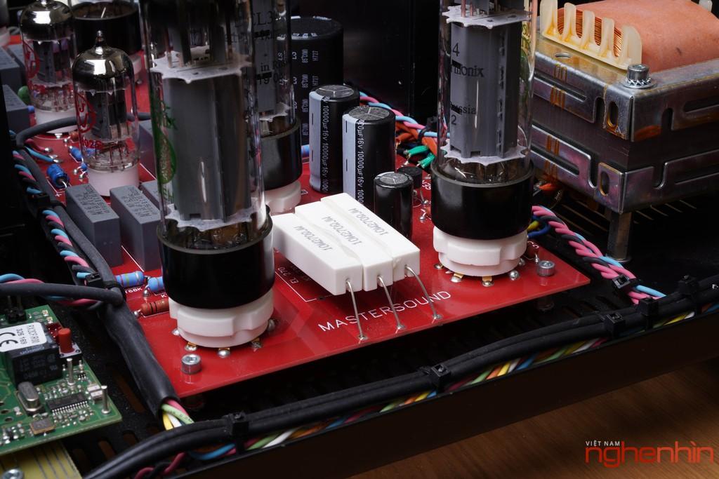 Ampli đèn MastersounD BoX – Dung hòa tính tự nhiên, độ chi tiết, kiểm soát bass tốt ảnh 14