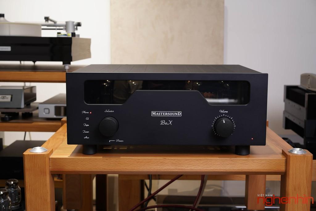 Ampli đèn MastersounD BoX – Dung hòa tính tự nhiên, độ chi tiết, kiểm soát bass tốt ảnh 3