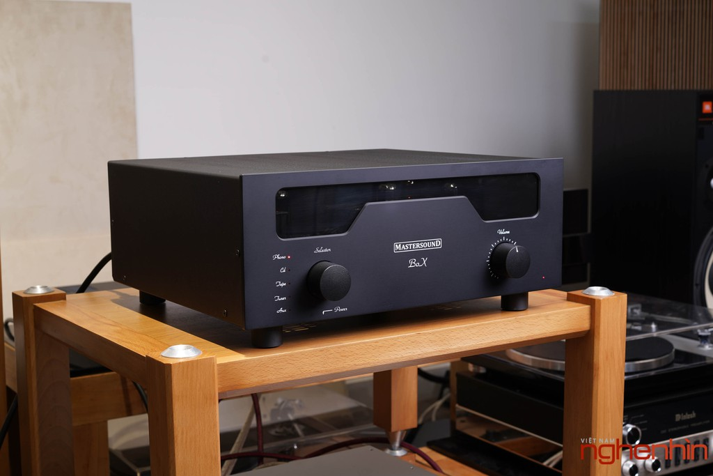 Ampli đèn MastersounD BoX – Dung hòa tính tự nhiên, độ chi tiết, kiểm soát bass tốt ảnh 5