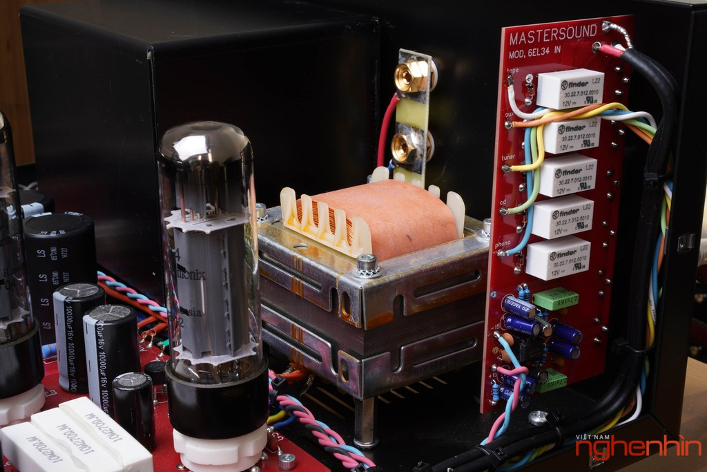 Ampli đèn MastersounD BoX – Dung hòa tính tự nhiên, độ chi tiết, kiểm soát bass tốt ảnh 10