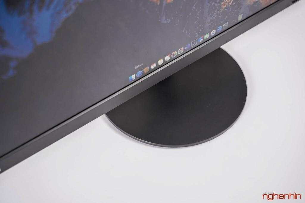 Đánh giá ThinkVision S27i-10: màn hình văn phòng, tối giản, dịu mắt ảnh 6