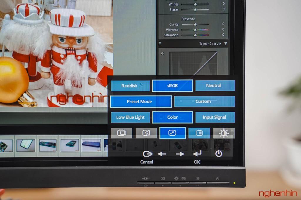 Đánh giá ThinkVision S27i-10: màn hình văn phòng, tối giản, dịu mắt ảnh 9