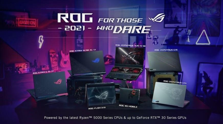 ASUS Republic of Gamers giới thiệu ROG Flow X13 và dải laptop gaming hoàn toàn mới tại sự kiện CES 2021 ảnh 1