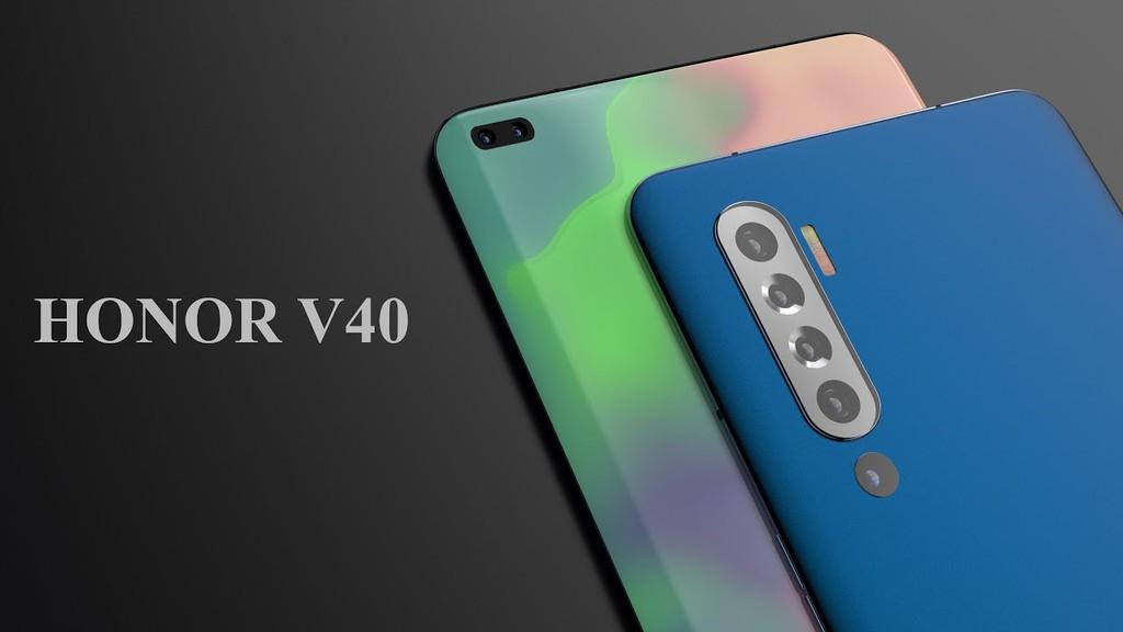 Honor V40 xuất hiện với màn hình siêu cảm ứng qua teaser ảnh 1