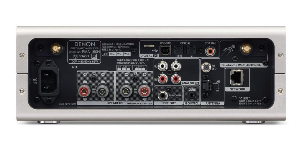 Denon PMA-150H - Lựa chọn ấn tượng dành cho hệ thống mini HiFi đa nhiệm ảnh 3
