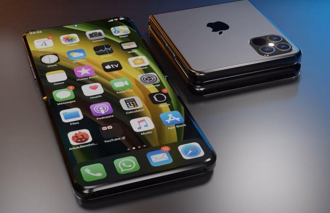 iPhone nắp gập đầu tiên sẽ có giá mềm ảnh 1