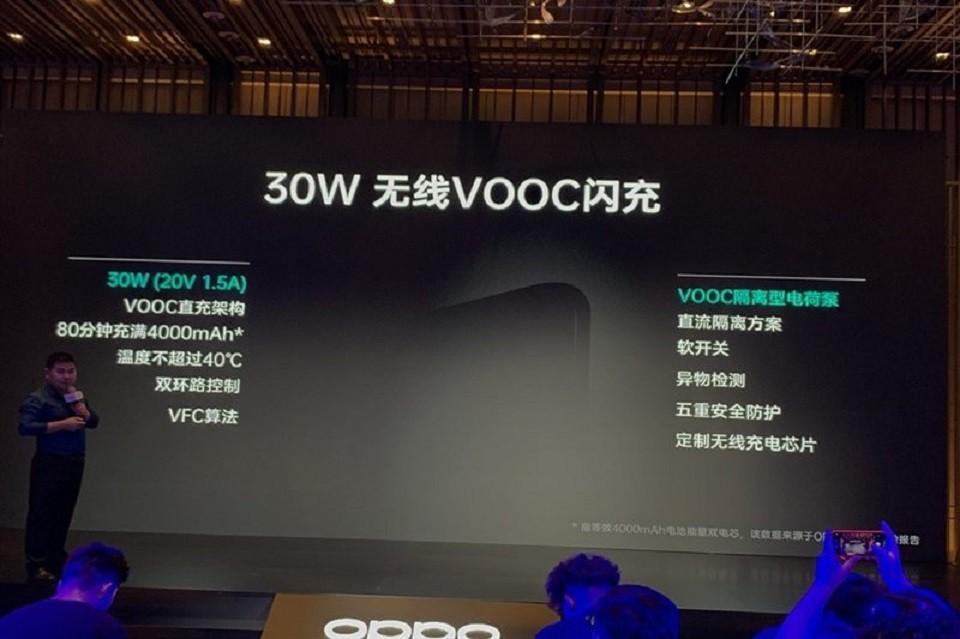 Oppo sẽ sớm ra mắt bộ sạc VOOC không dây 30W ảnh 1