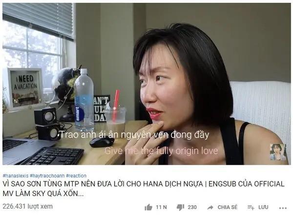 """Chê lời dịch tiếng Anh MV """"Hãy trao cho anh"""" của Sơn Tùng tối nghĩa, nữ vlogger dịch lại 1 bản và được share khắp cộng đồng học ngoại ngữ - Ảnh 6."""