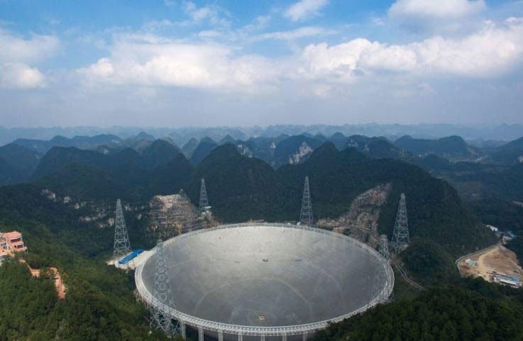 Kính viễn vọng lớn nhất thế giới ở Quý Châu.