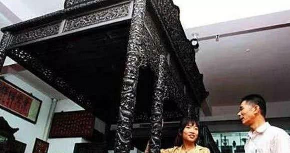 Chiếc giường hoàng cung ngự dụng duy nhất ở Trung Quốc.