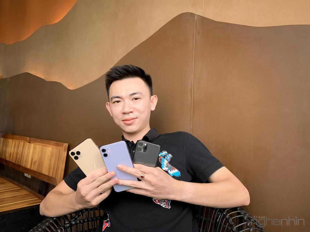 Trên tay bộ 3 iPhone 11, iPhone 11 Pro, iPhone 11 Pro Max đầu tiên tại Việt Nam ảnh 1