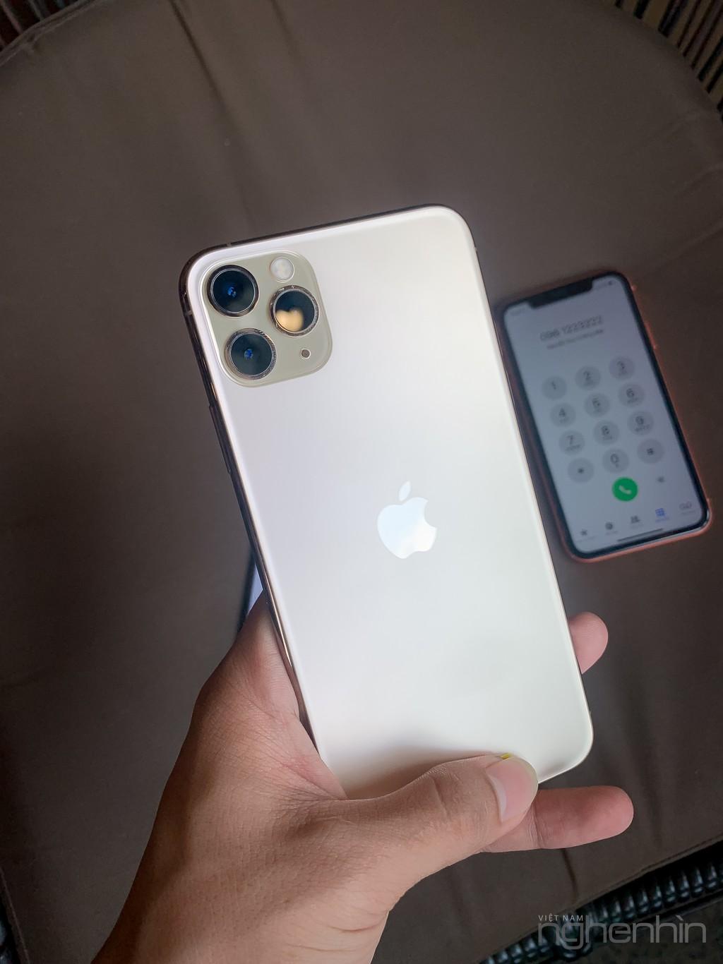 Trên tay bộ 3 iPhone 11, iPhone 11 Pro, iPhone 11 Pro Max đầu tiên tại Việt Nam ảnh 7