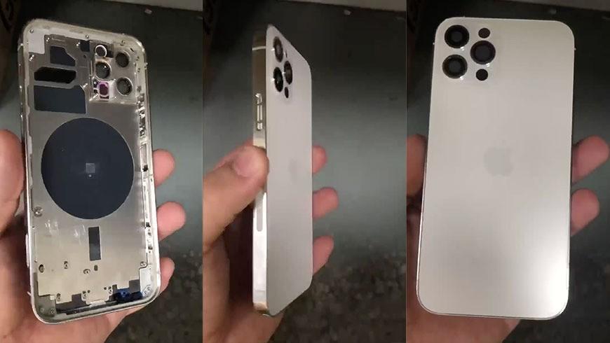 Video trên tay mặt sau iPhone 12 Pro xác nhận máy quét LiDAR ảnh 1