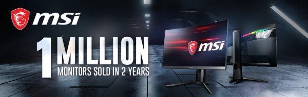 Màn hình MSI cán mốc 1 triệu chiếc bán ra ảnh 2
