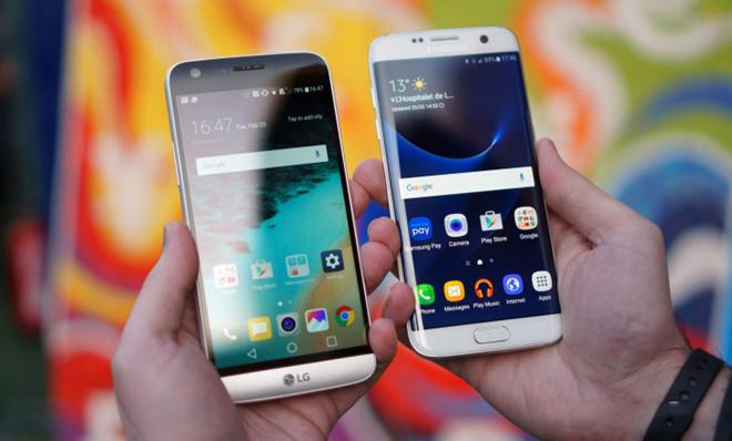 Smartphone Android cu dan vang bong tren thi truong xach tay