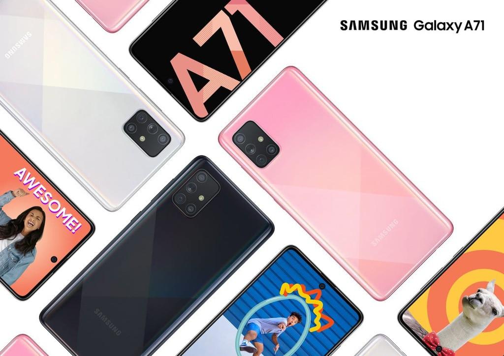 Galaxy A71 lặng lẽ ra mắt: màn hình đục lỗ, 4 camera 64MP, chạy Android 10 ảnh 1