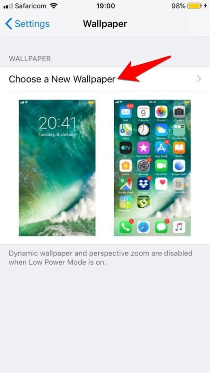 Hướng dẫn cài hình nền động cho iPhone