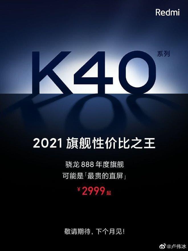 Redmi K40 Pro, smartphone có snapdragon 888 rẻ nhất thị trường đang đến ảnh 3