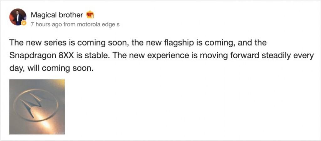 Motorola Edge S sớm ra mắt với Snapdragon 865? ảnh 2