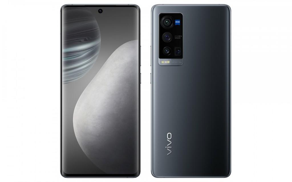 Ảnh render Vivo X60 Pro + có 4 camera sau nhưng khác X60 Pro ảnh 2