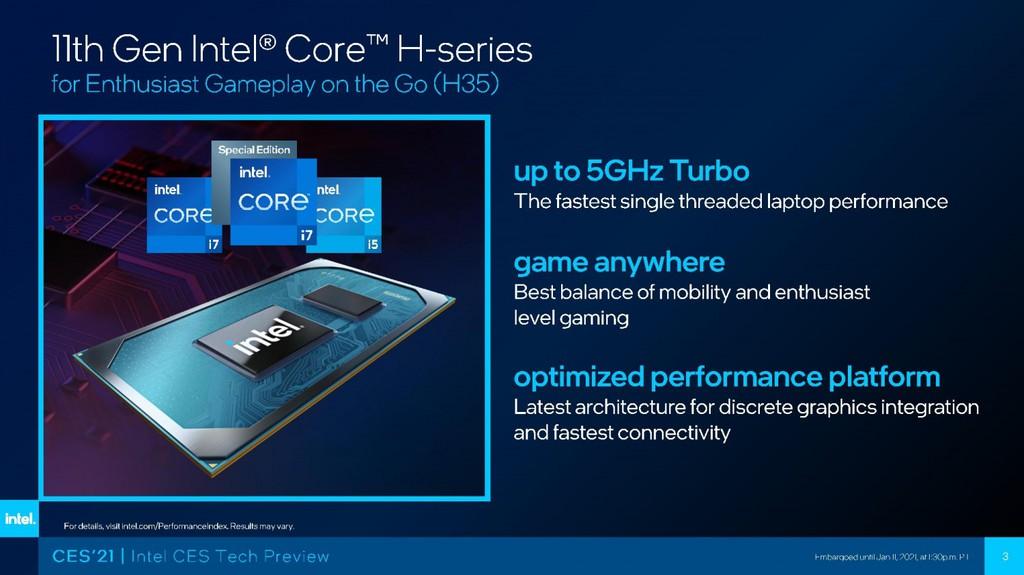 Intel Tiger Lake-H cuối cùng cũng sử dụng kiến trúc SuperFin 10nm mới ảnh 2