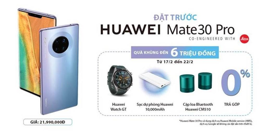 Huawei Mate 30 Pro chính thức lên kệ thị trường Việt giá  ảnh 2