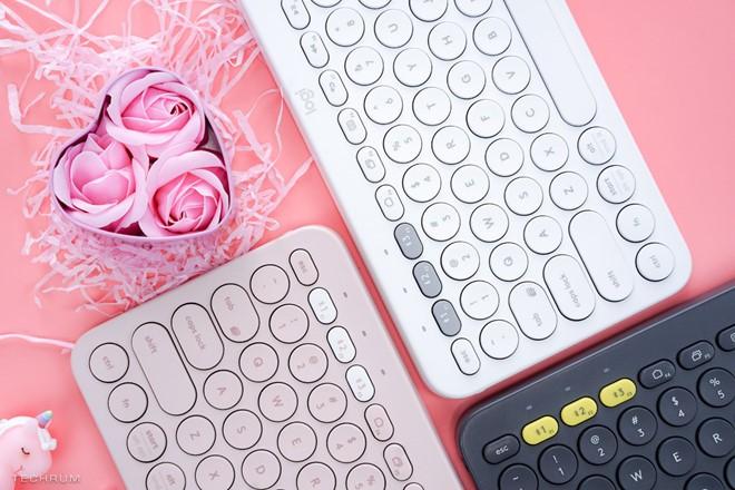 Logitech-K380 Multi-Device Bluetooth có thêm 2 màu mới màu mới cho phái nữ ảnh 1