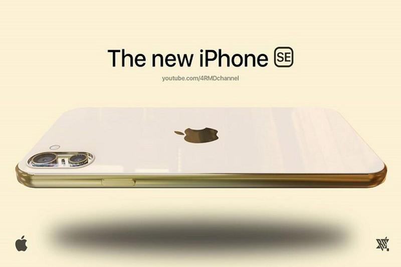 Thiet ke bong bay cua iPhone gia re 2021, camera sieu doc la