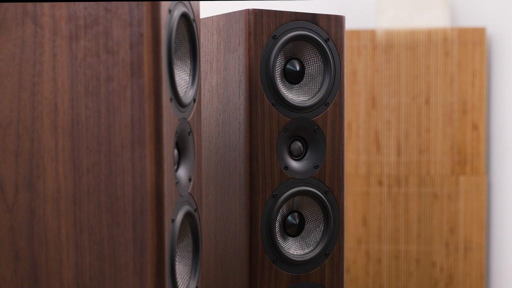 Acoustic Energy AE 520 – Loa đầu bảng 100 triệu toàn củ carbon ảnh 1