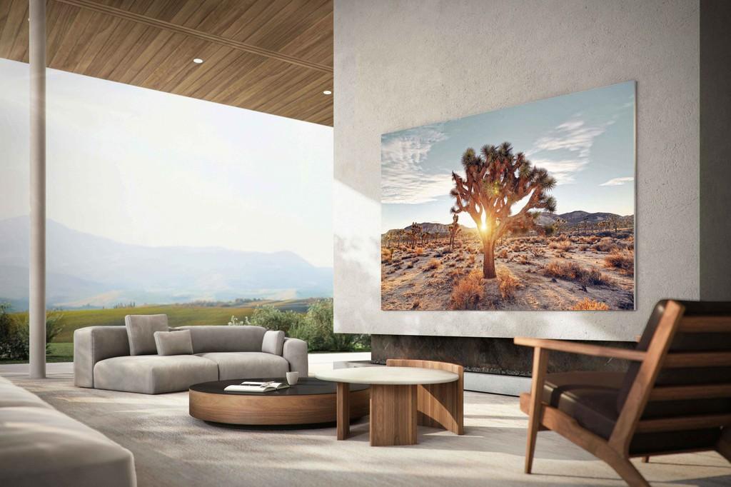 Samsung ra mắt TV tuyệt tác tương lai MICRO LED 2021 giá từ 3 tỷ  ảnh 1