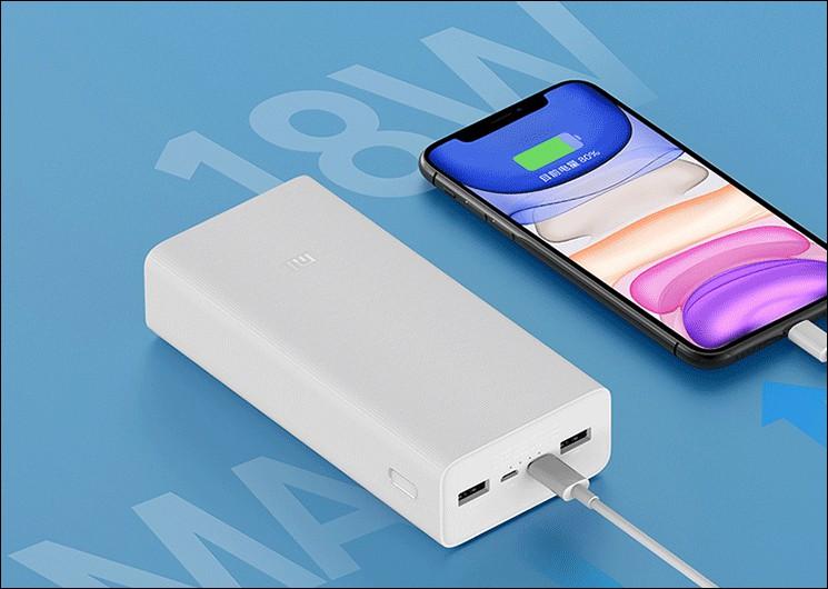 Xiaomi ra mắt pin dự phòng Mi Power Bank 3 dung lượng 30.000mAh, giá chưa đến 600.000 nghìn ảnh 1