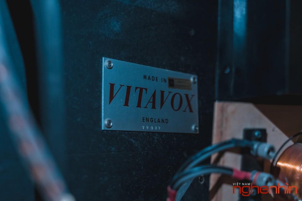 Chiêm ngưỡng loa cổ huyền thoại Vitavox thùng còn nguyên bản với bộ phối ghép ấn tượng ảnh 16