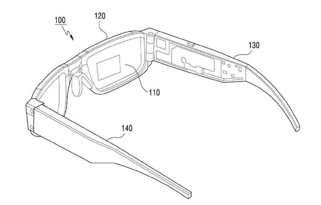 Samsung có thể phát triển kính thực tế tăng cường gập ảnh 2