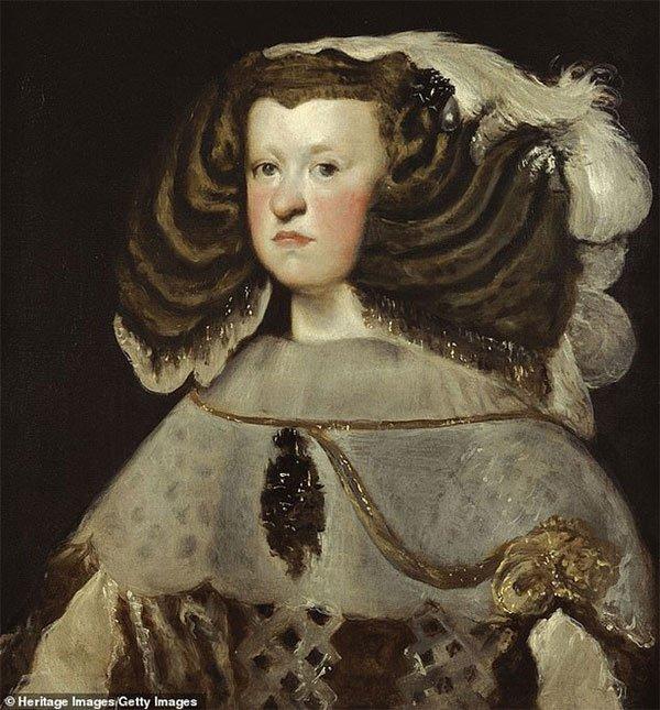 Công nương Mariana của Áo (1634-1696).