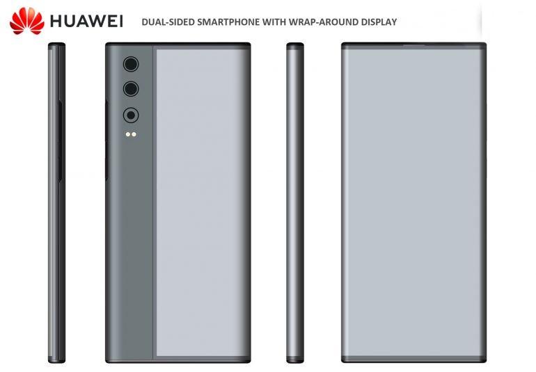 Huawei sẽ có smartphone màn hình bọc quanh thân máy? ảnh 1