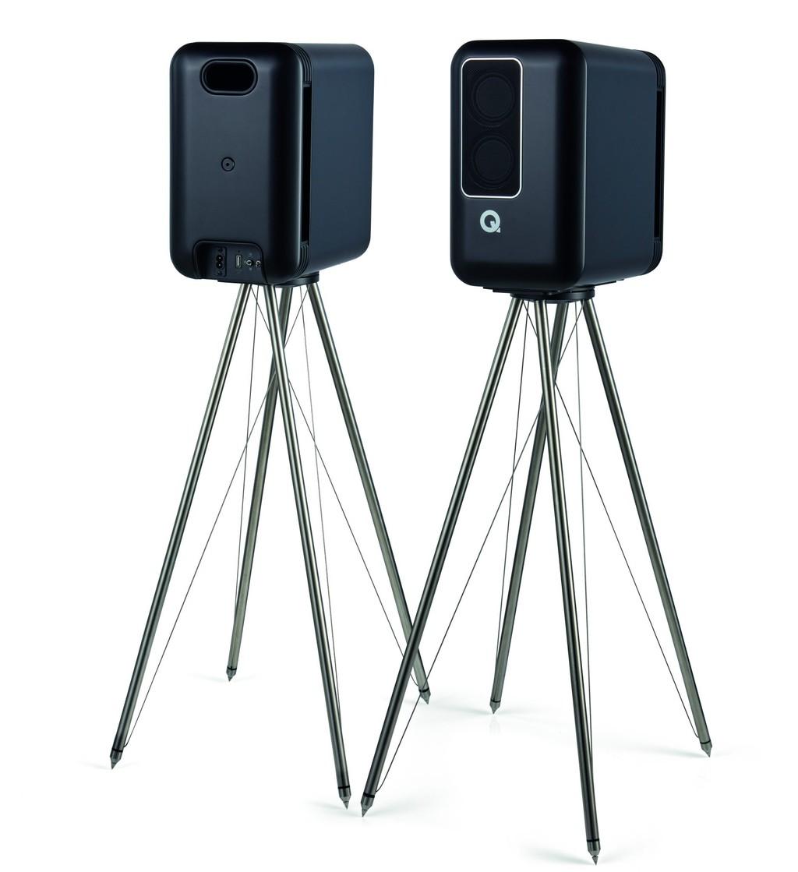 Q Acoustics lần đầu tung loa không dây hi-end, thiết kế ấn tượng, driver mở 180 độ ảnh 8